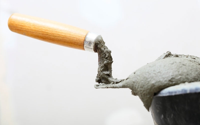 How to prepare cement mortar?